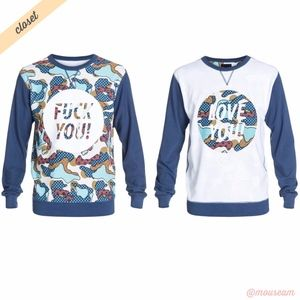 [DC Shoes x Cyrcle] Love You Reversible Crew Shirt